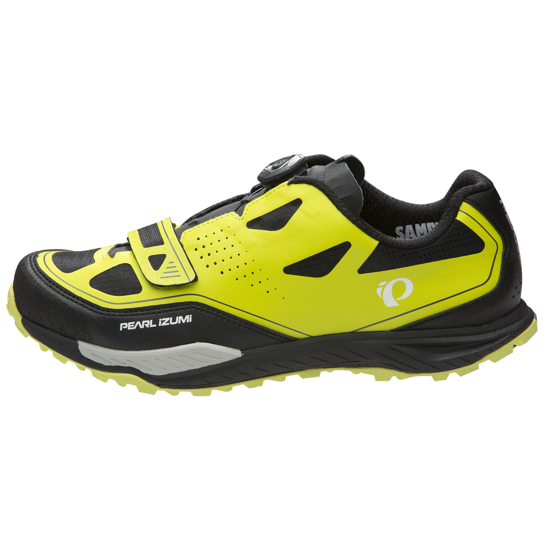 Pearl Izumi X-Alp Launch II Lime Punch / Black Men 45