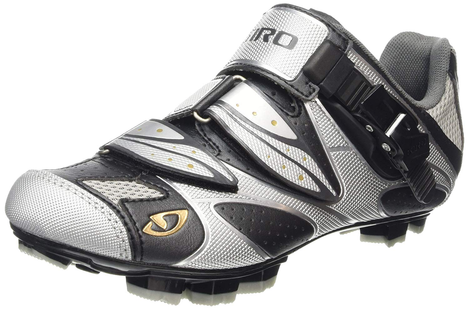 Giro 2012 Women's Sica Mountain Bike Shoes (Charcoal/Silver – 39)