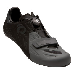 PEARL iZUMi Men Road ELITE Schuh black shadow grey 47