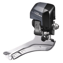 Shimano Umwerfer Ultegra Di2 FD-6870 2×11-Gang Do-Sw 61-66° Anlöt Box