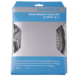Shimano Bremszugset Road BC-9000 Polymer weiss Blister
